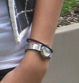Minimalist accessories at the University of Washington