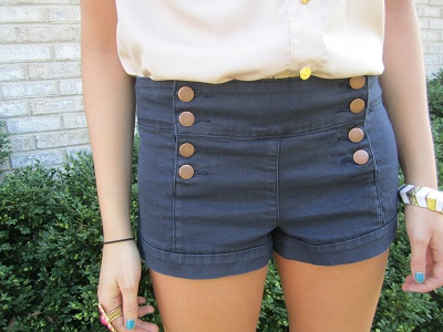 College trend: High waisted shorts