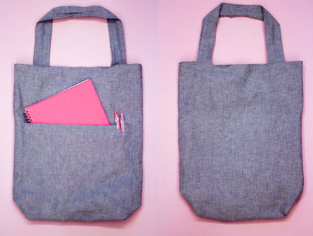 DIY a customised tote bag using this tutorial.