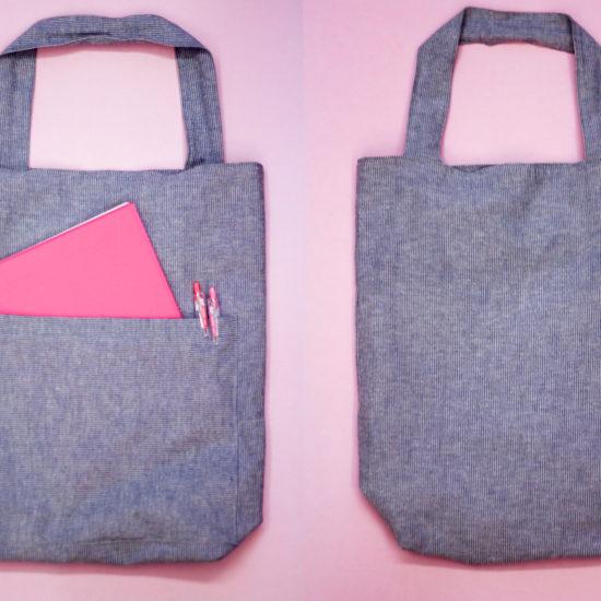 DIY a customised tote bag using this tutorial.