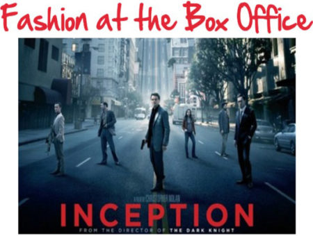 Fashion from the movie Inception