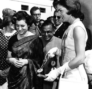 Indira Gandhi and Jackie O
