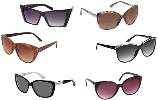 Inexpensive cat-eye sunglasses