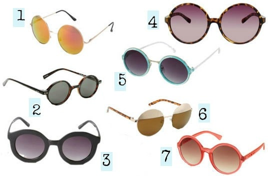 Inexpensive round sunglasses