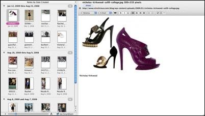 Fashion Inspiration Notebook
