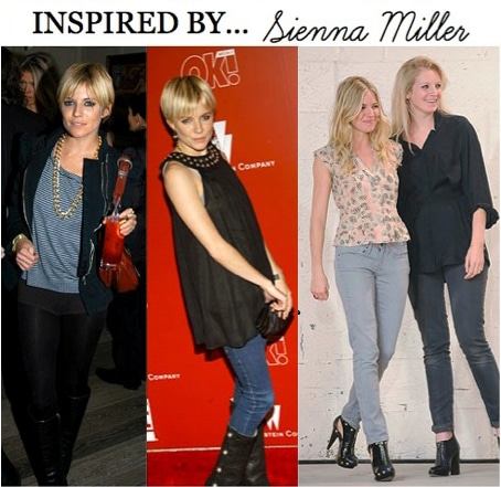 Inspired by Sienna Miller