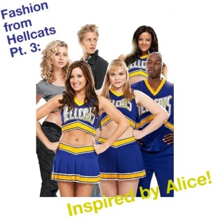 Fashion inspired by Alice from Hellcats