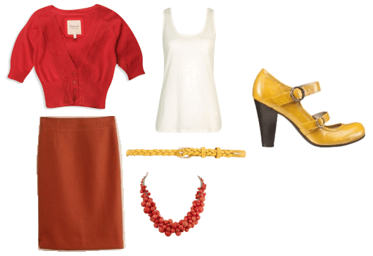 Outfit inspired by Emma from Glee