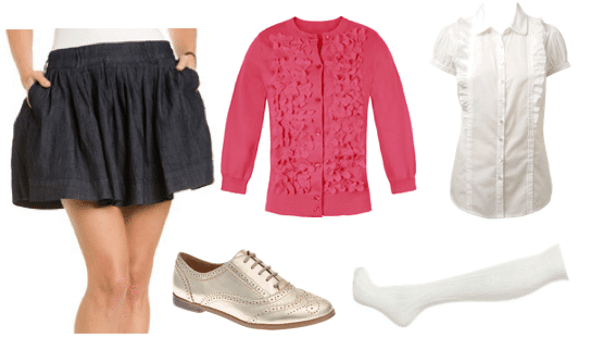 Outfit inspired by Rachel from Glee