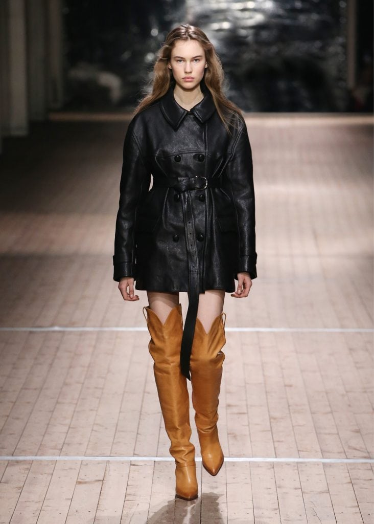 Fall 2018 trend: The american west seen at Isabel Marant Fall 2018