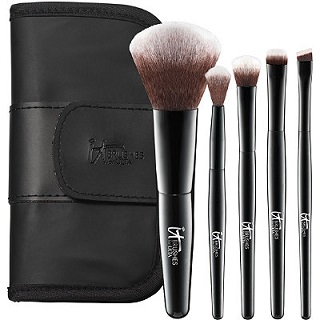 It Brushes for Ulta Your Face & Eyes Essentials Mini Travel Brush Set