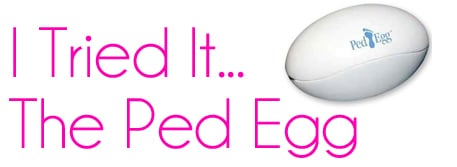 The Ped Egg packaging