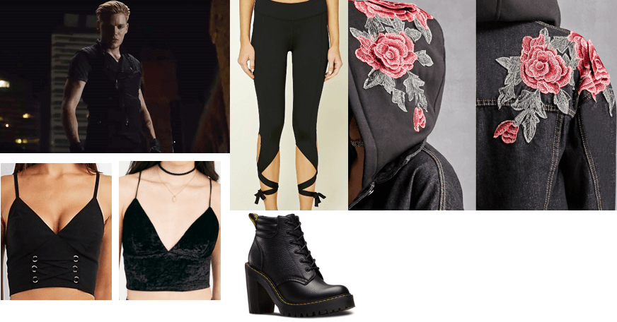 Outfit inspired by Jace from Shadowhunters