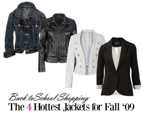 Jackets for fall 2009