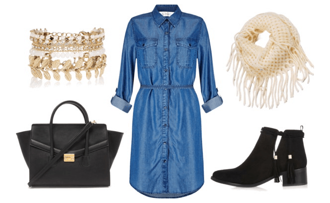Chambray Dress Austen
