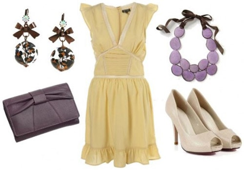 Yellow dress outfit inspired by Jane from Disney's Tarzan