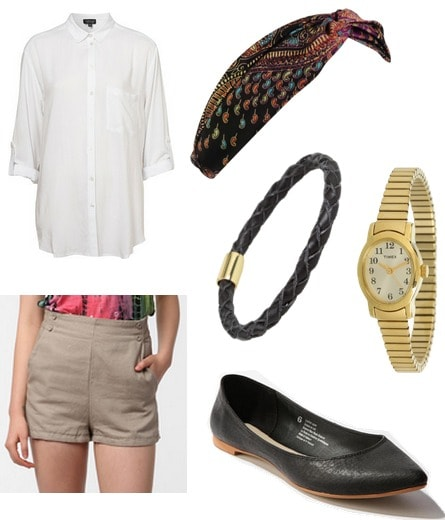 Jean Seberg Inspired Outfit 1