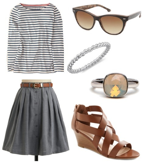 Jean Seberg Inspired Outfit 2