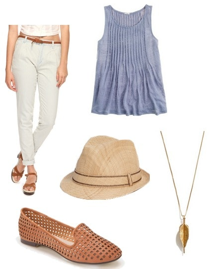 Jean Seberg Inspired Outfit 3