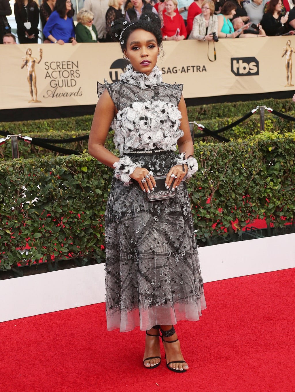 Janelle Monae in Chanel at the 2017 SAG Awards