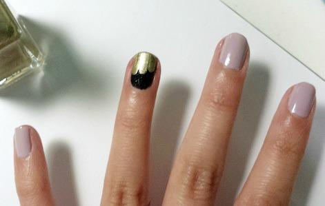 Jazz age nail art step 1 part 2