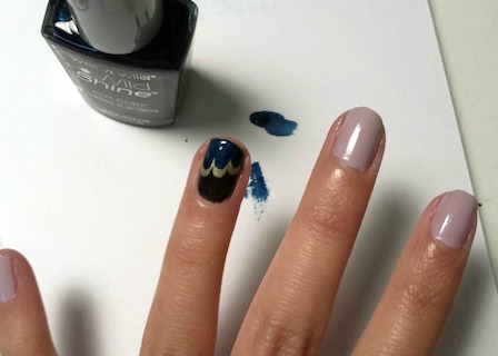 Jazz age nail art step 1 part 3