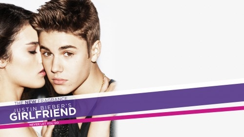 Fashion Inspiration: Justin Bieber Girlfriend Fragrance Ads