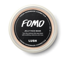 Photo of Lush Cosmetics FOMO jelly face mask.