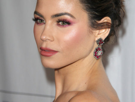 Jenna Dewan Tatum's pink makeup look at the Los Angeles Ballet Gala