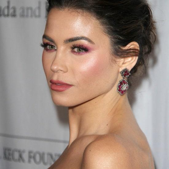 Jenna Dewan Tatum's pink makeup look at the Los Angeles Ballet Gala