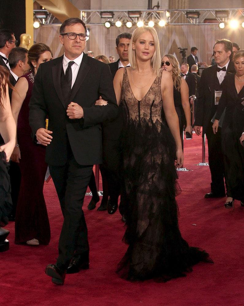 Jennifer Lawrence at the 2016 Oscars