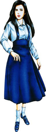 Jennifer from the original Clock Tower game