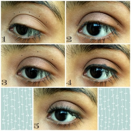 Jess new girl eye makeup