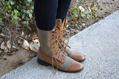 UNLV fashion - textured boots