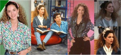Jessie Spano style - Saved by the Bell