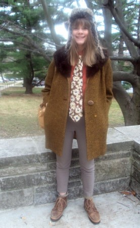 Jessye, an indiana university college fashionista