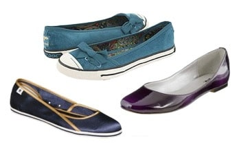 Jewel Tone Flats for fall