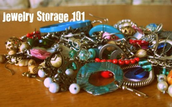 How to store your jewelry at college