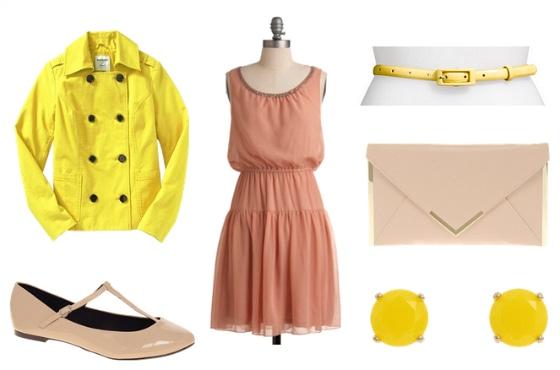 Jill Stuart Spring 2012 RTW Inspired Outfit 1