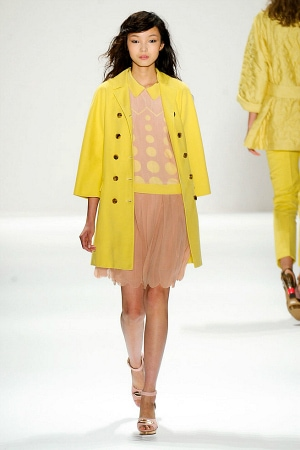 Jill Stuart Spring 2012 RTW Look 1