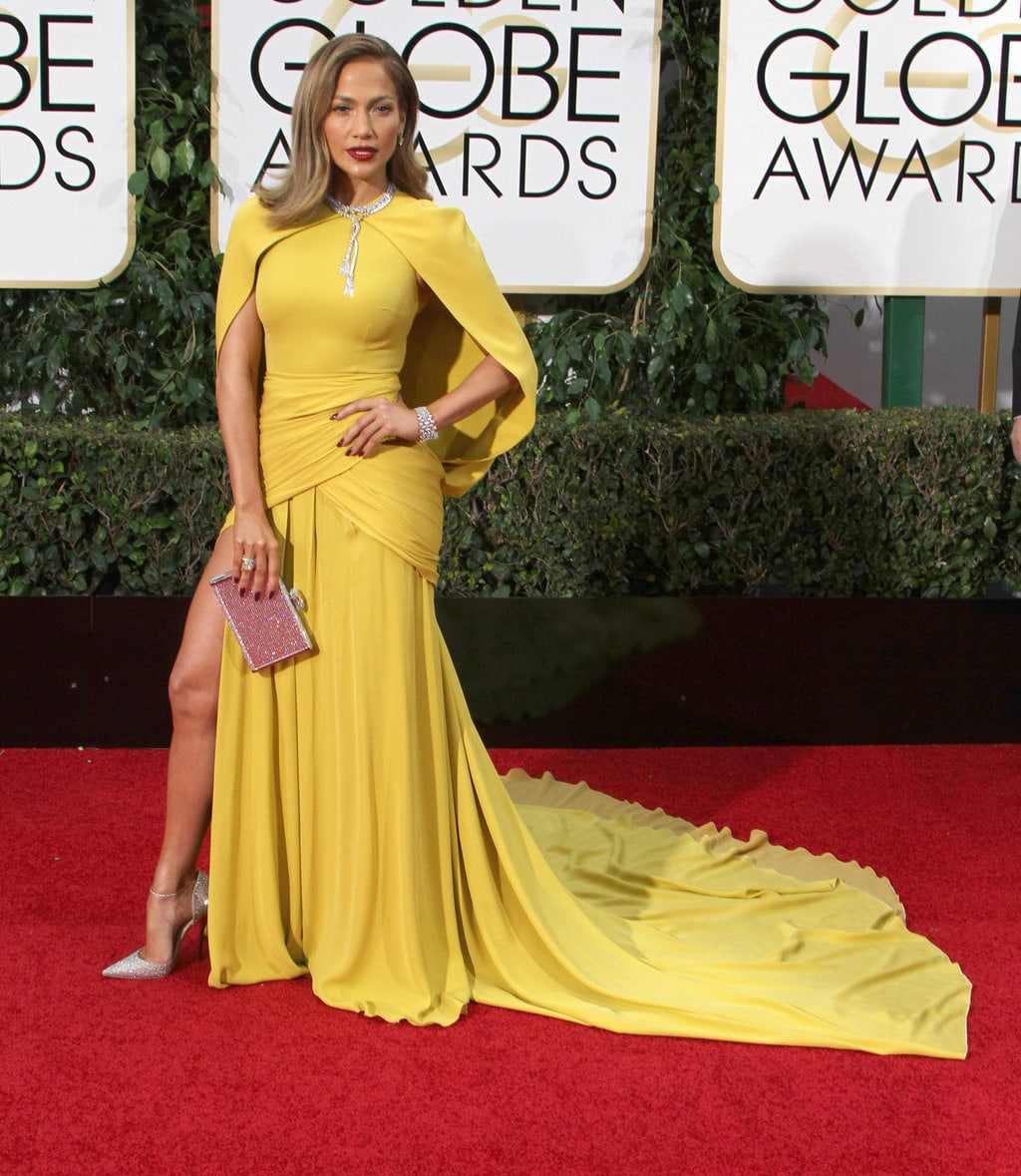 JLo at the 2016 Golden Globes