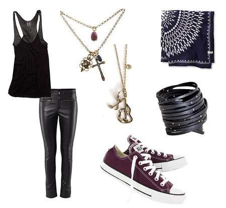 Joan Jett Inspired Outfit 2