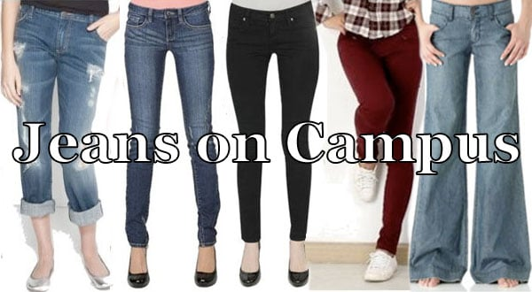 Jeans on  Campus: cute jeans that are perfect for every day