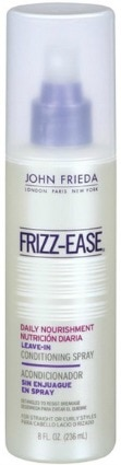 John frieda frizzease daily nourishment leave in conditioning spray