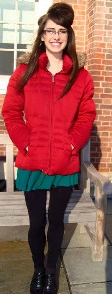 Jordan, our Yale fashionista of the week