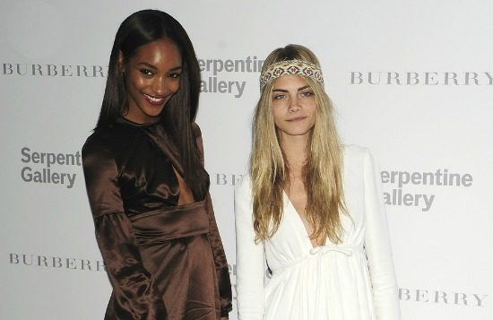 Jourdan dunn and cara delevingne