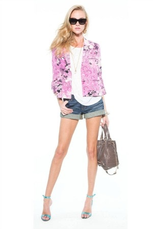 Juicy couture pre fall 2013 look 1