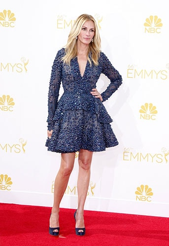 Julia Roberts in Elie Saab at the 2014 Emmy Awards