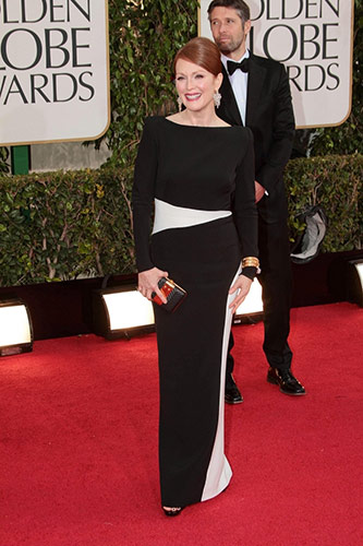 Julianne Moore at the 2013 golden globe awards