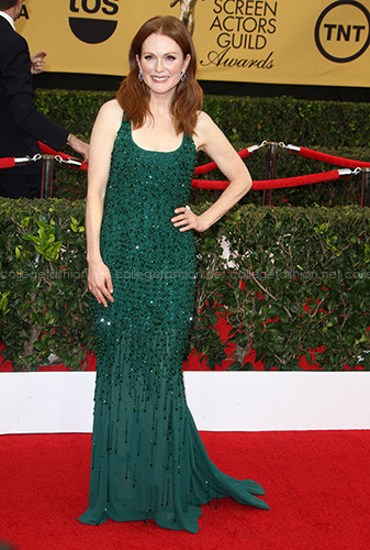 Julianne Moore in Givenchy Couture at the 2015 SAG Awards